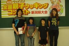(左)美本弘恵さん・悠海ちゃん親子 (右)斉藤寿子さん・圭吾くん親子