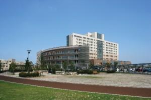 新発田病院外観