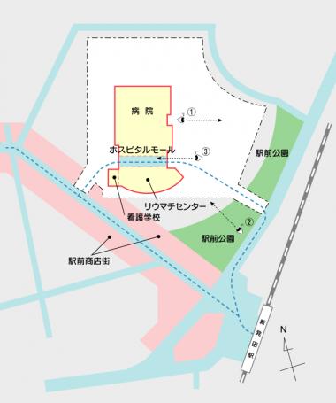 新発田病院ビューポジション